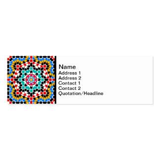 Islamic geometric pattern Business Card