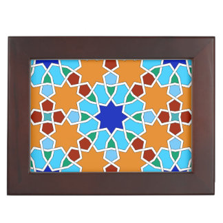 Islamic geometric pattern keepsake boxes