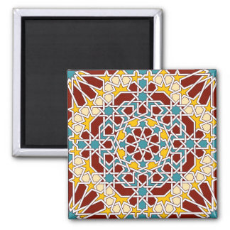 Islamic geometric pattern magnet