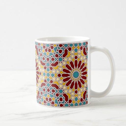 Islamic geometric pattern mug