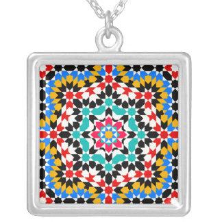 Islamic geometric pattern Necklace
