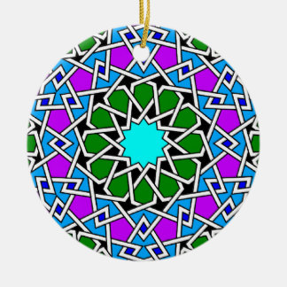Islamic geometric pattern ornament
