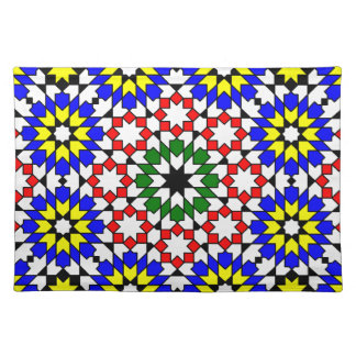 Islamic geometric pattern Placemat
