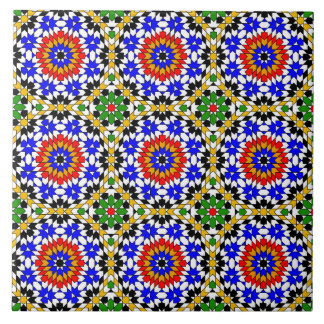 Islamic geometric pattern tile