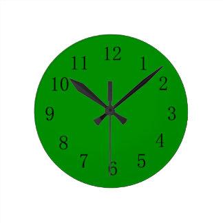 Islamic Green Color Wall Clock