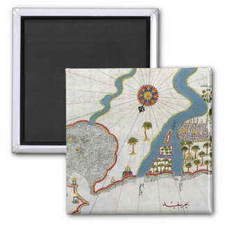 Islamic Map From Antiquity Magnet