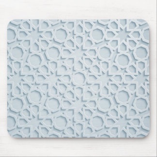 islamic moroccan geometric pattern mousepad