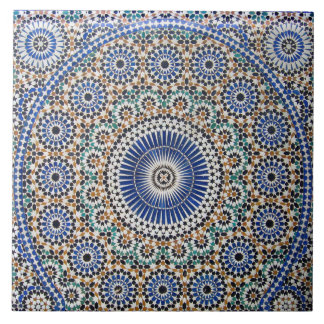 Islamic Mosaic Art Ceramic Photo Tile