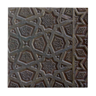 Islamic Pattern Small Square Tile