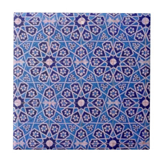 Islamic patterns 2 small square tile