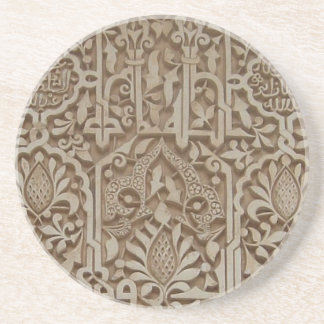 Islamic Patterns from the Alhambra Andalusia Spain Coaster