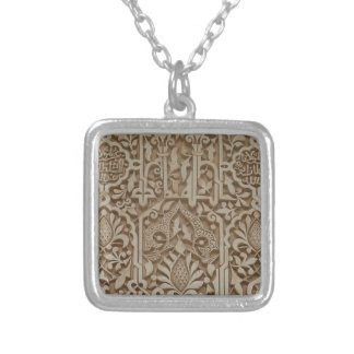 Islamic Patterns from the Alhambra Andalusia Spain Personalised Necklace