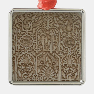 Islamic Patterns in the Alhambra, Andalusia, Spain Christmas Ornament