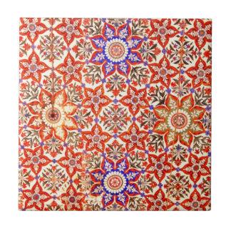 Islamic patterns Rawalpindi, Pakistan Small Square Tile