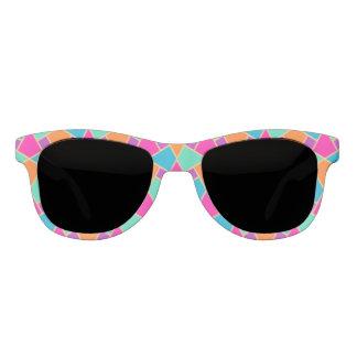 Islamic Pink, Orange, Turquoise, Green Gold-effect Sunglasses