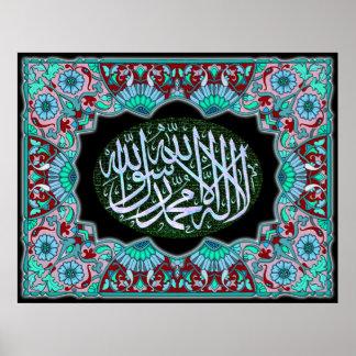 Islamic products kalma Tayyeba Poster