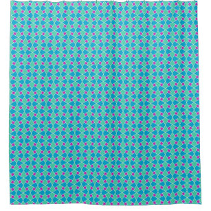purple and turquoise shower curtain. Islamic Purple  Aqua Turquoise White Outline Shower Curtain Curtains Zazzle Co Uk