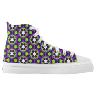 islamic religious geometric decoration pattern bac high tops