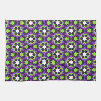 islamic religious geometric decoration pattern bac tea towel