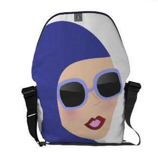 Islamic scarf muslima hijab lady style bag commuter bag