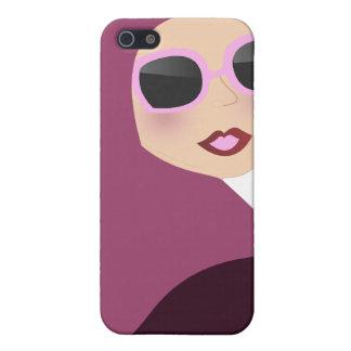 Islamic scarf muslima hijab lady style iPhone 5/5S covers