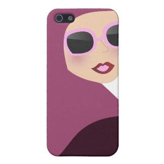Islamic scarf muslima hijab lady style iPhone 5 covers