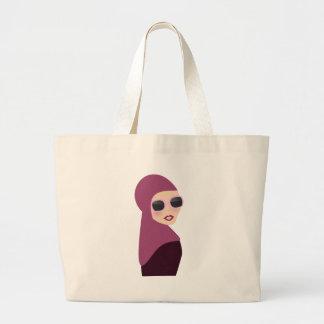 Islamic scarf muslima hijab lady style jumbo tote bag