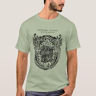 Islamic Shield As-Salamu `Alaykum T-Shirt