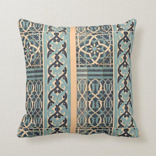 Islamic Tile Design Custom Colour Cushion