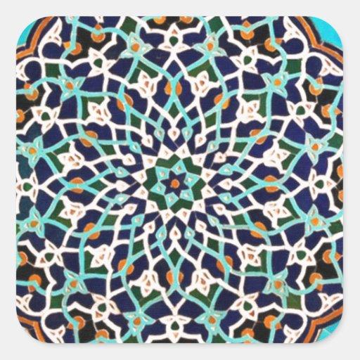 islamic tile sticker
