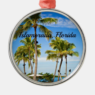 Islamorada, Florida Palm Trees Christmas Ornament