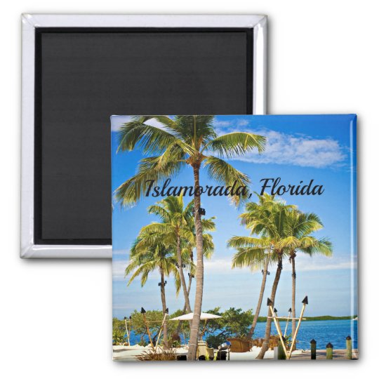 Islamorada, Florida Palm Trees Magnet