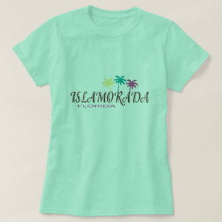 Islamorada Florida with palm trees T-Shirt