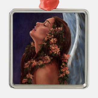 Island Angel Christmas Ornament