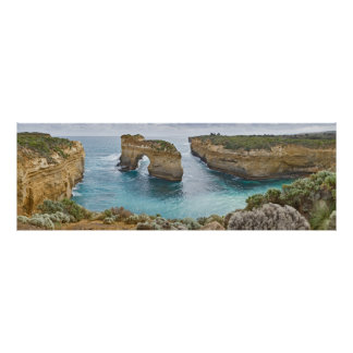 Island Archway @ Loch Ard Gorge Victoria Australia Poster
