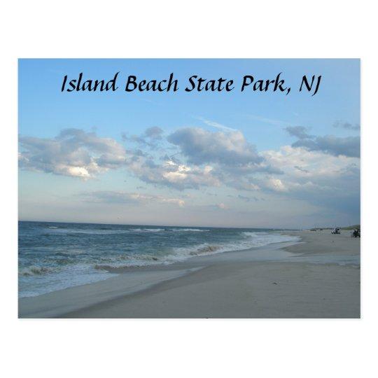 Island Beach State Park, NJ Postcard