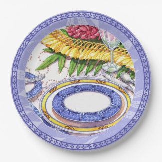 Island Cafe - Ginger Lei Place Setting Paper Plate
