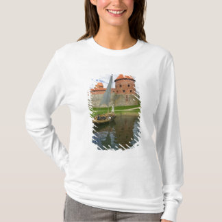 Island Castle by Lake Galve, Trakai, Lithuania T-Shirt