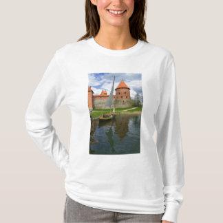 Island Castle by Lake Galve, Trakai, Lithuania T-Shirt