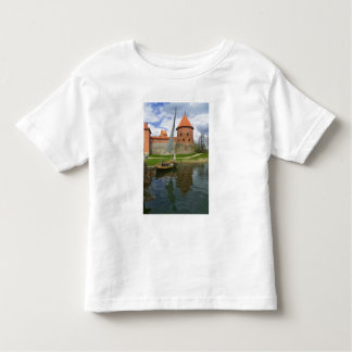 Island Castle by Lake Galve, Trakai, Lithuania Toddler T-Shirt