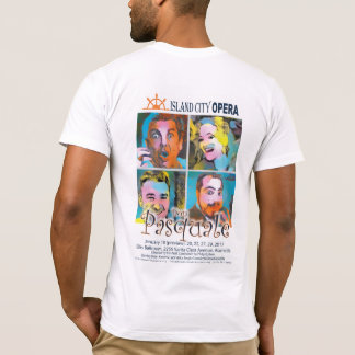 Island City Opera Don Pasquale Men's light tshirt