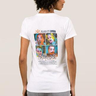 Island City Opera Don Pasquale Women tshirt light