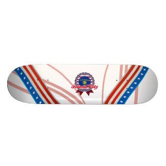 Island City, OR Custom Skate Board