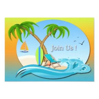 Island Dreams Summer Party Invitations