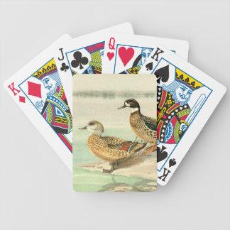 Island Duck Birds Wildlife Animal Playing Cards