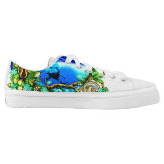 Island Echoes limited edition Printed Shoes