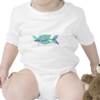 Island Fish Baby Bodysuit