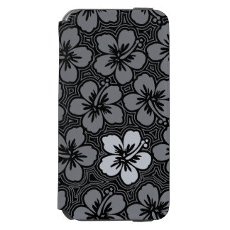 Island Floral Hawaiian Accent Hibiscus Pinstriped Incipio Watson™ iPhone 6 Wallet Case
