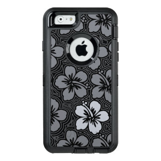 Island Floral Hawaiian Accent Hibiscus Pinstriped OtterBox iPhone 6/6s Case