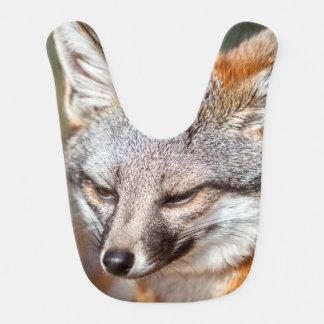 Island Fox Baby Bib